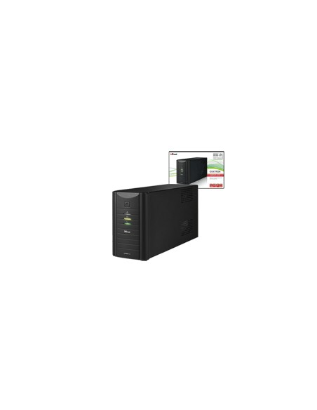 GRUPPI DI CONTINUITÀ: vendita online Trust Oxxtron gruppo di continuità (UPS) 1000 VA 3 presa(e) AC in offerta