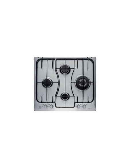 PIANI COTTURA A GAS: vendita online Electrolux RGG 6243 LOX piano cottura Acciaio inossidabile Da incasso Gas 4 Fornello(i) i...