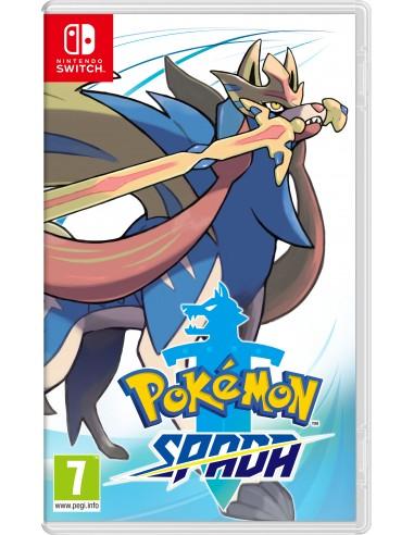 GIOCHI SWITCH: vendita online Nintendo Pokémon Spada Basic Cinese semplificato, Cinese tradizionale, Tedesca, Inglese, ESP, F...