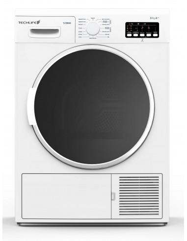 ASCIUGATRICI: vendita online Techlife TLTD8KD asciugatrice Libera installazione Caricamento frontale 8 kg A++ Bianco in offerta