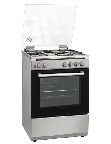 CUCINE CON FORNO ELETTRICO: vendita online Techlife TLCK66FMX cucina Piano cottura Gas Acciaio inossidabile in offerta
