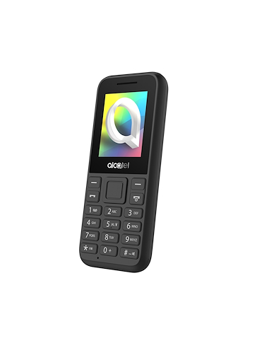 """SMARTPHONE: vendita online Alcatel 1066D 4,57 cm (1.8"""") 63 g Nero Telefono cellulare basico in offerta"""