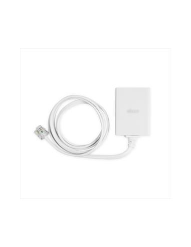 ACCESSORI TELEFONIA FISSA: vendita online Ekon ECTELFIXADSL10RJ11 switch telefonico Bianco in offerta