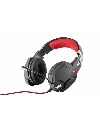 ACCESSORI GIOCHI PC: vendita online Trust GXT 322 Cuffia Padiglione auricolare Nero, Rosso in offerta