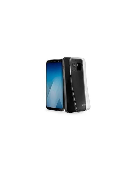 COVER E CUSTODIE SMARTPHONE: vendita online SBS TESKINSAA8T SAMSUNG A8 2018  COVER SKINNY TRASPARENTE in offerta