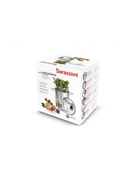 ACCESSORI PER LA TAVOLA: vendita online Barazzoni 487051016 pentola per cottura a vapore 4,2 L Acciaio inossidabile in offerta
