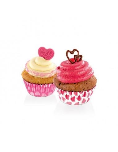 ACCESSORI PER LA TAVOLA: vendita online Tescoma 630611 stampo da forno Tazze per cupcake/muffin 60 pz in offerta