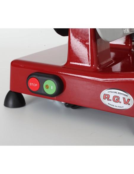 AFFETTATRICI: vendita online RGV Luxor 22 affettatrice Elettrico Rosso, Argento Alluminio 120 W in offerta