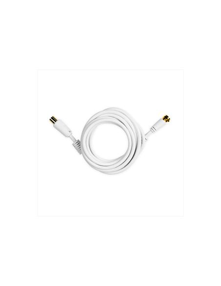 CAVI VIDEO E ANTENNA: vendita online Ekon ECAN18MSAT cavo coassiale 1,8 m 9.5mm Tipo F Bianco in offerta