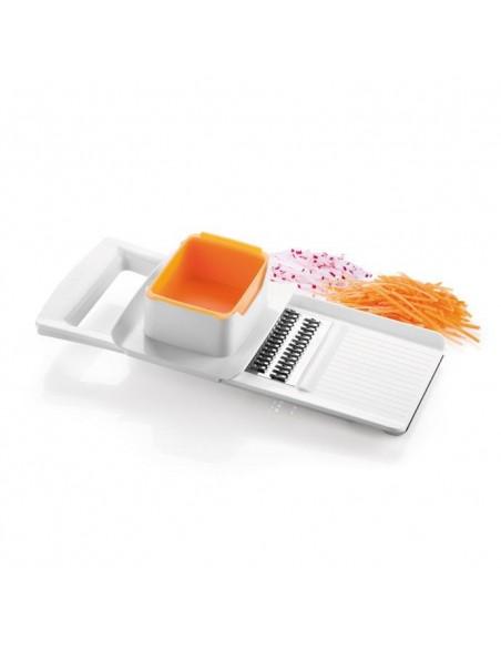 ACCESSORI PER LA TAVOLA: vendita online Tescoma 643854 grattugia Grattugia piatta Arancione, Bianco in offerta