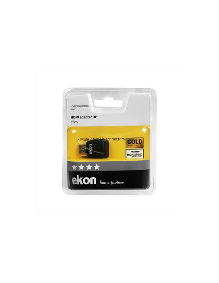 CAVI VIDEO E ANTENNA: vendita online Ekon ECVHDMIAD90MFG cavo di interfaccia e adattatore HDMI Nero in offerta