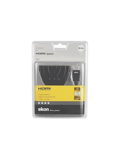CAVI VIDEO E ANTENNA: vendita online Ekon HDMI 1.4 3x HDMI in offerta