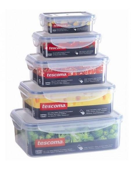 ACCESSORI PER LA TAVOLA: vendita online Tescoma 892060 recipiente per cibo Scatola Rettangolare 0,2 L Trasparente in offerta
