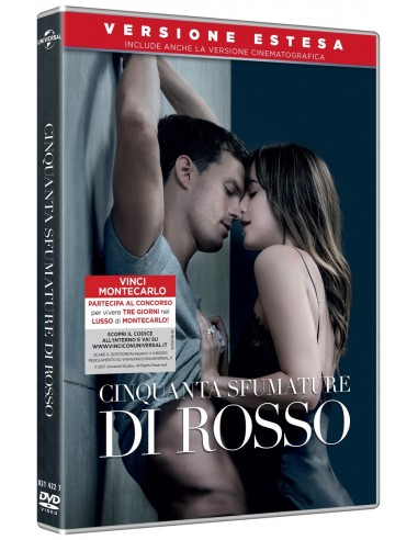 FILM: vendita online Universal Pictures Cinquanta sfumature di rosso DVD 2D Inglese, ESP, ITA in offerta