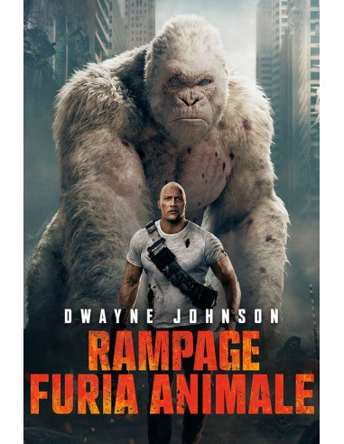 FILM: vendita online Warner Bros Rampage - Furia animale DVD Tedesca, Inglese, Francese, ITA in offerta