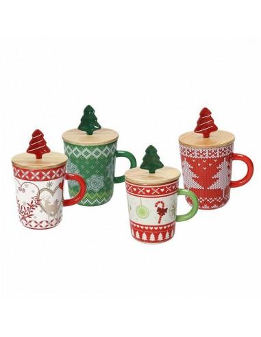 ACCESSORI PER LA TAVOLA: vendita online Tognana Porcellane Natale tazza Multicolore Universale 1 pezzo(i) in offerta