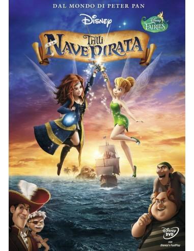 FILM: vendita online Walt Disney Pictures Trilli e la nave pirata DVD Tedesca, Inglese, ITA, Turco in offerta