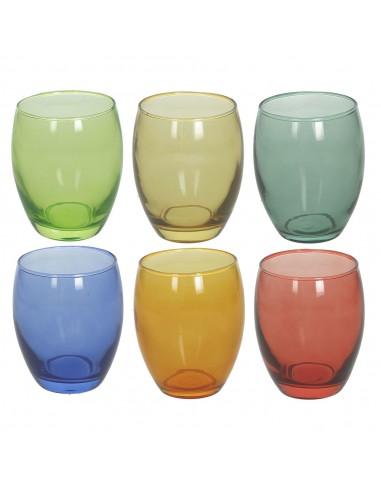 ACCESSORI PER LA TAVOLA: vendita online Tognana Porcellane Glass Multicolore 6 pz 400 ml in offerta