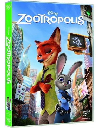 FILM: vendita online Walt Disney Pictures Zootropolis DVD Arabo, Inglese, ITA in offerta