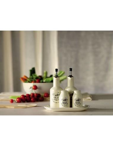 ACCESSORI PER LA TAVOLA: vendita online Tognana Porcellane DC1AR394898 oliera/acetiera 0,190 L Bottiglia Ceramica Bianco in o...