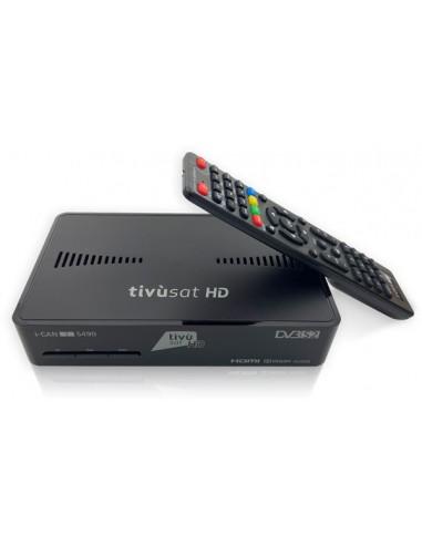 DECODER SATELLITARE: vendita online i-CAN S490 Cavo, Ethernet (RJ-45), Satellite HD Nero in offerta