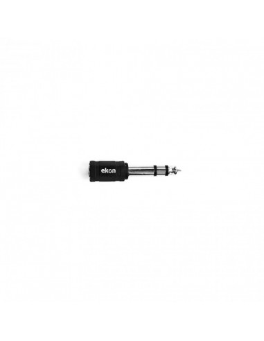 SUPPORTI E ACCESSORI HI-FI: vendita online Ekon ECAJACKAD35F63M splitter audio Nero in offerta