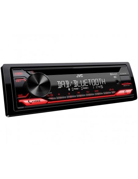 JVC KD-DB622BT Ricevitore multimediale per auto Nero 200 W Bluetooth