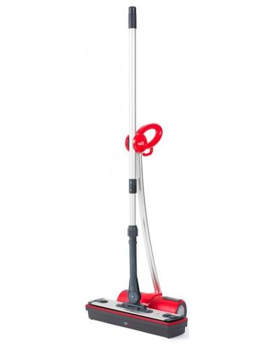 PULITORI A VAPORE: vendita online Polti Moppy Red Premium sistema a mocio e secchio Serbatoio singolo Alluminio, Rosso in off...