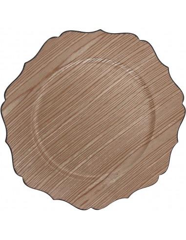 ACCESSORI PER LA TAVOLA: vendita online Tognana Porcellane P6922320905 piatto piano Piatto da portata Rotondo Plastica, Silic...