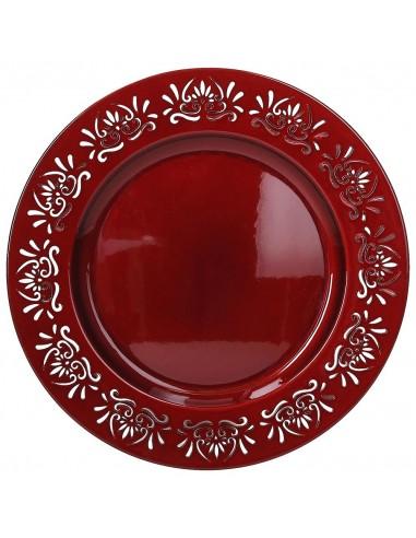 ACCESSORI PER LA TAVOLA: vendita online Tognana Porcellane P6922330904 piatto piano Piatto da portata Rotondo Plastica, Silic...
