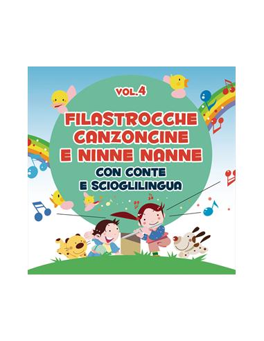 MUSICA: vendita online CANZONCINE FILASTROCCHE E NINNE NANNE VOL. 4 in offerta