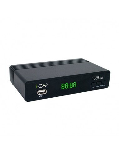DECODER DIGITALE TERRESTRE: vendita online i-ZAP T365 PLAY in offerta