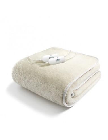 TERMOCOPERTE: vendita online Imetec 16605 coperta/cuscino elettrico Sottocoperta elettrica 55 W Bianco Lana in offerta