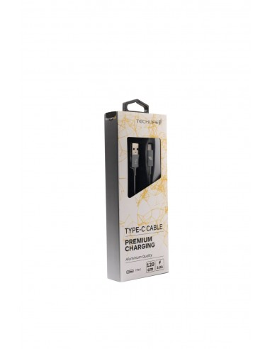 CAVI E ADATTATORI: vendita online TECHLIFE TLMT0004G CAVO USB TYPE-C 1,2M GREY in offerta