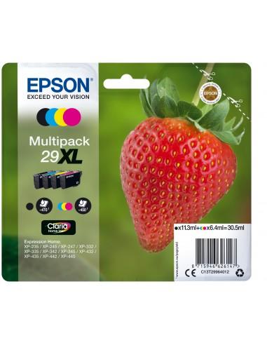 CARTUCCE E TONER: vendita online Epson Strawberry Multipack Fragole 4 colori Inchiostri Claria Home 29XL in offerta