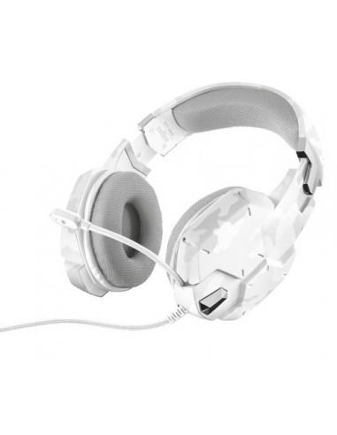 ACCESSORI GIOCHI PC: vendita online Trust GXT 322W Cuffia Padiglione auricolare Connettore 3.5 mm Bianco in offerta